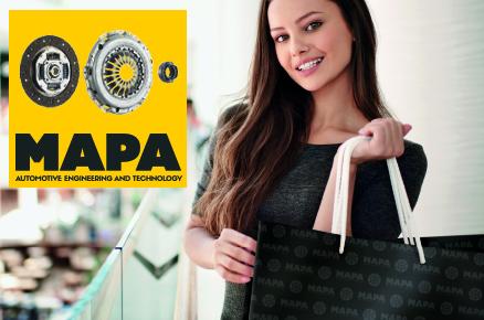 ragazza con shopper MAPA